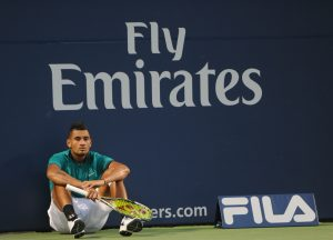 Nick Kyrgios, pictured above